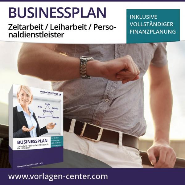 Businessplan-Paket Zeitarbeit / Leiharbeit / Personaldienstleister