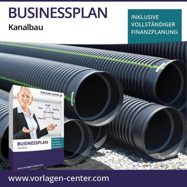 Businessplan-Paket Kanalbau