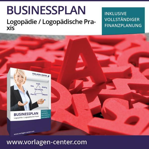 Businessplan-Paket Logopädie / Logopädische Praxis