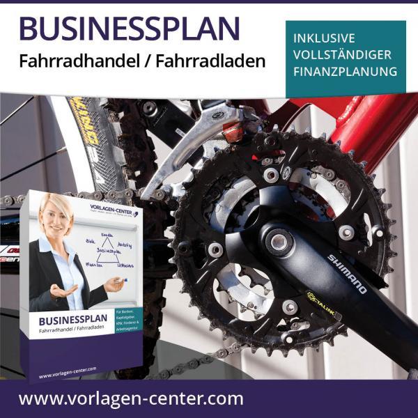 Businessplan-Paket Fahrradhandel / Fahrradladen