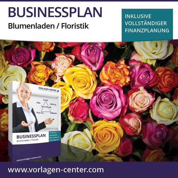 Businessplan-Paket Blumenladen / Floristik