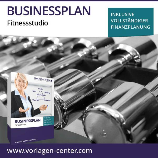 Businessplan-Paket Fitnessstudio