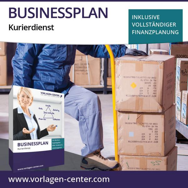 Businessplan-Paket Kurierdienst