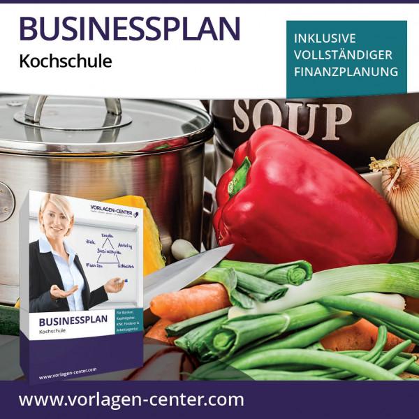 Businessplan-Paket Kochschule