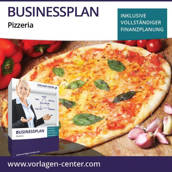 Businessplan-Paket Pizzeria