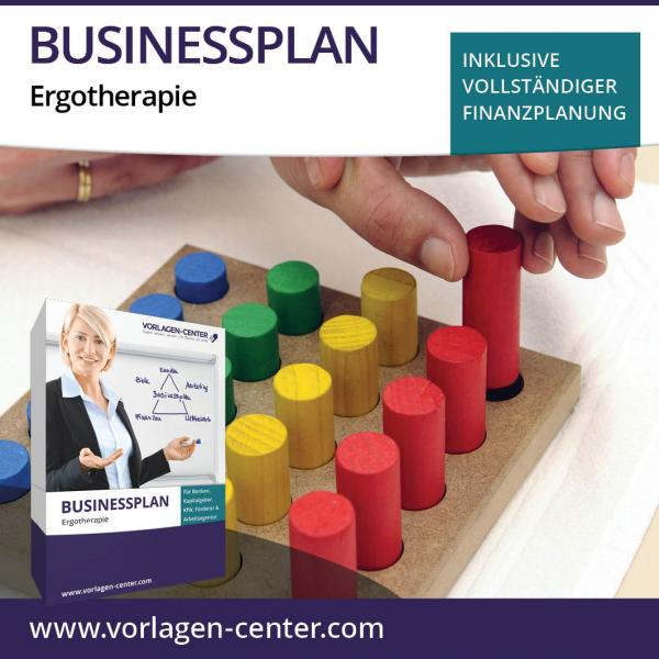 Businessplan-Paket Ergotherapie