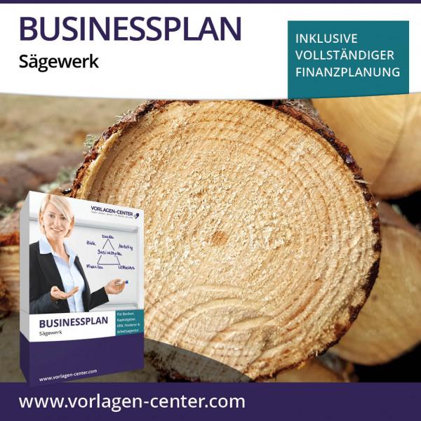 Businessplan-Paket Sägewerk