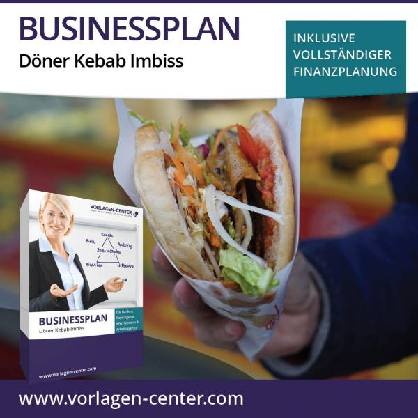 Businessplan-Paket Döner Kebab Imbiss