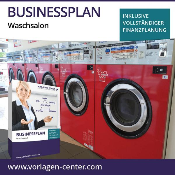 Businessplan-Paket Waschsalon