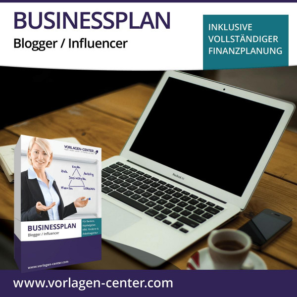 Businessplan-Paket Blogger / Influencer