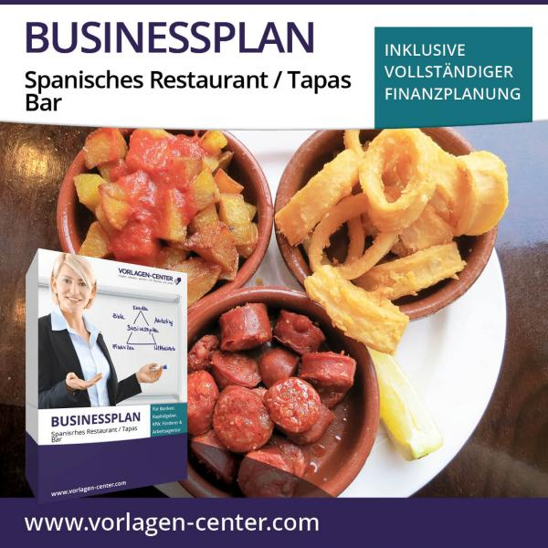Businessplan Spanisches Restaurant / Tapas Bar
