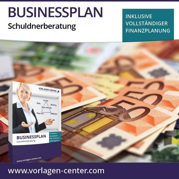 Businessplan-Paket Schuldnerberatung