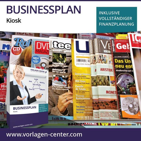 Businessplan-Paket Kiosk