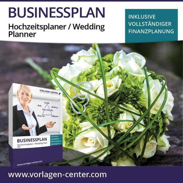 Businessplan-Paket Hochzeitsplaner / Wedding Planner