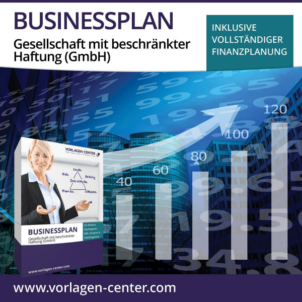 Businessplan-Paket Gesellschaft mit beschränkter Haftung (GmbH)
