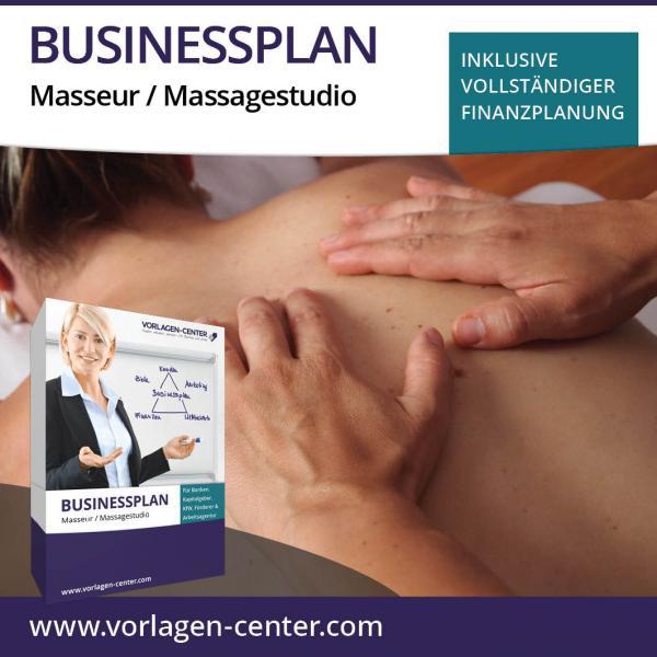 Businessplan-Paket Masseur / Massagestudio