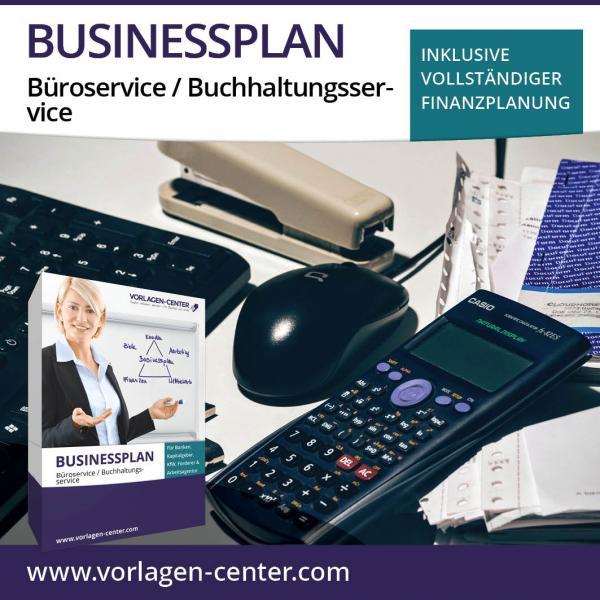 Businessplan-Paket Büroservice / Buchhaltungsservice