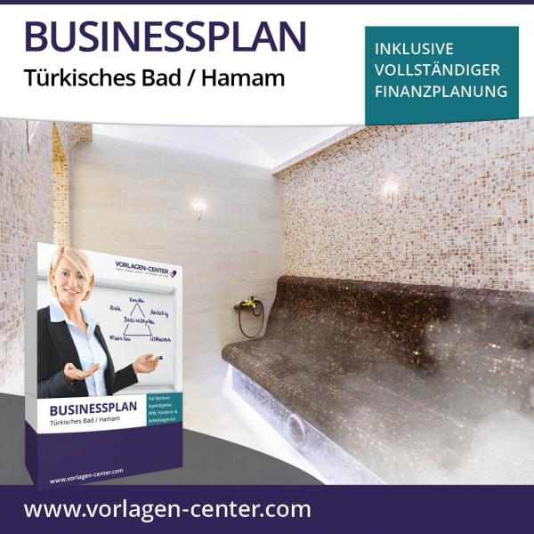 Businessplan-Paket Türkisches Bad / Hamam