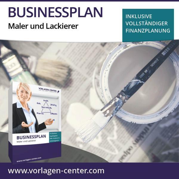 Businessplan-Paket Maler und Lackierer