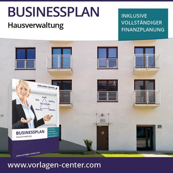 Businessplan-Paket Hausverwaltung