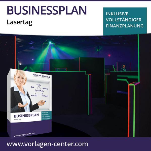 Businessplan-Paket Lasertag