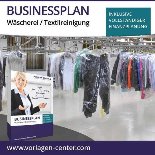 Businessplan-Paket Wäscherei / Textilreinigung