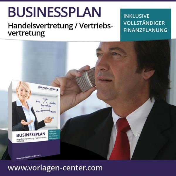 Businessplan-Paket Handelsvertretung / Vertriebsvertretung