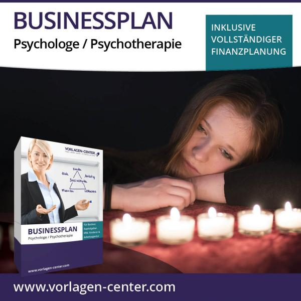 Businessplan-Paket Psychologe / Psychotherapie