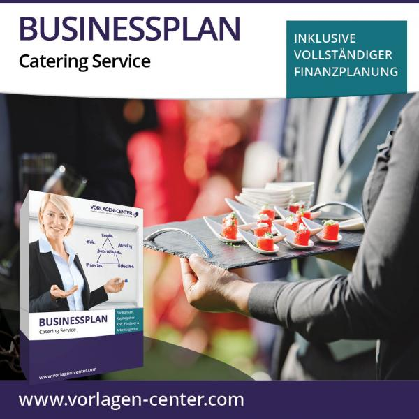 Businessplan-Paket Catering Service
