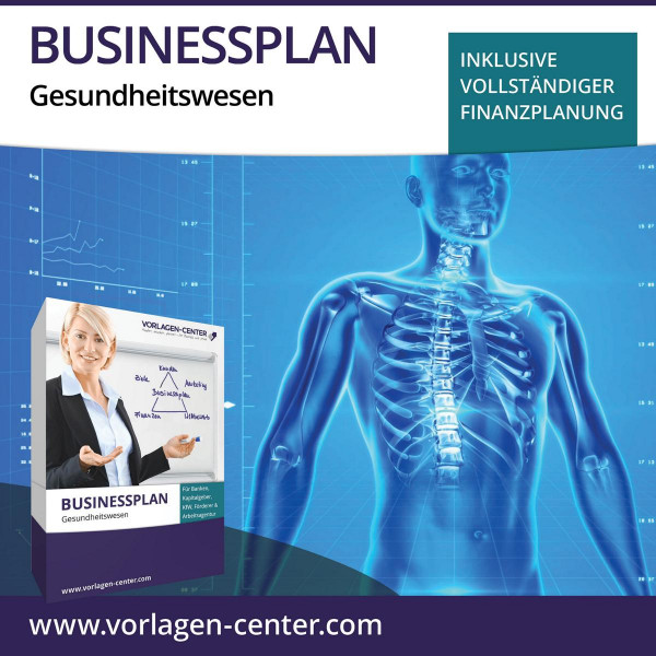 Businessplan-Paket Gesundheitswesen