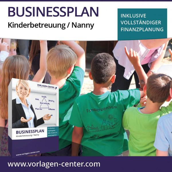 Businessplan-Paket Kinderbetreuung / Nanny