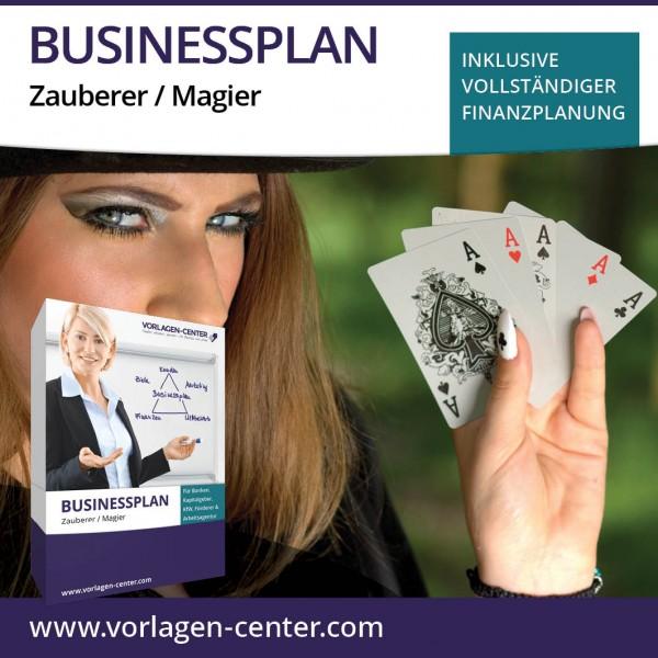Businessplan-Paket Zauberer / Magier