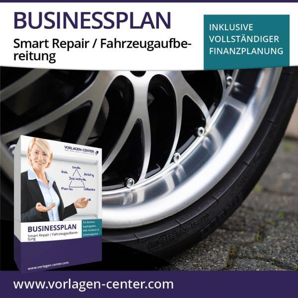 Businessplan-Paket Smart Repair / Fahrzeugaufbereitung