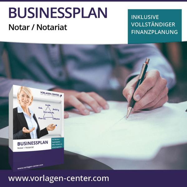 Businessplan Notar / Notariat
