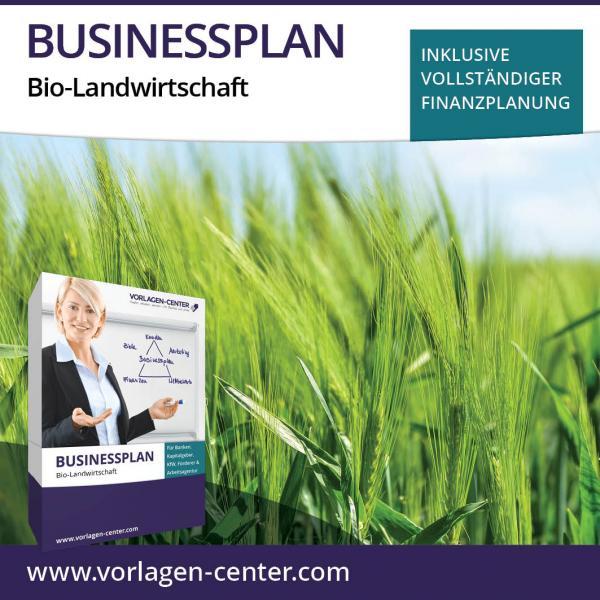 Businessplan-Paket Bio-Landwirtschaft