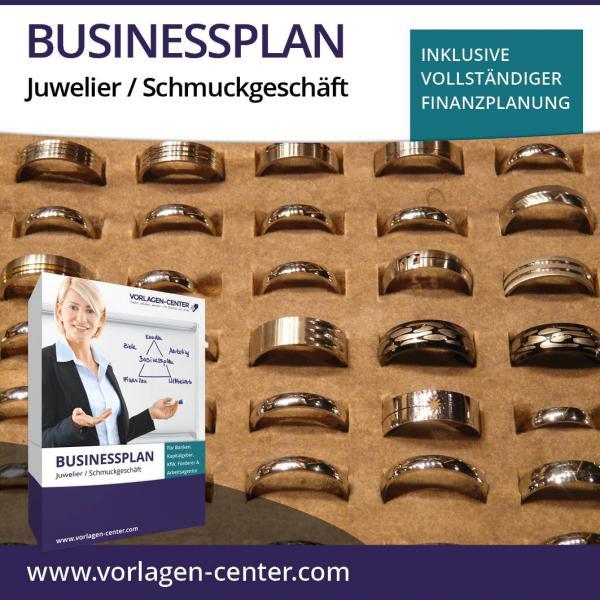 Businessplan-Paket Juwelier / Schmuckgeschäft
