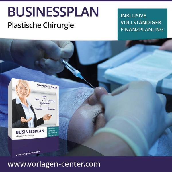 Businessplan-Paket Plastische Chirurgie