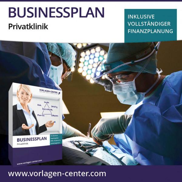 Businessplan-Paket Privatklinik