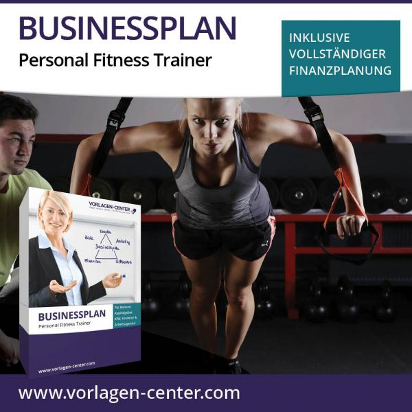 Businessplan-Paket Personal Fitness Trainer