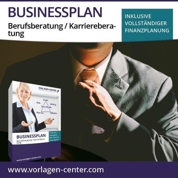 Businessplan-Paket Berufsberatung / Karriereberatung