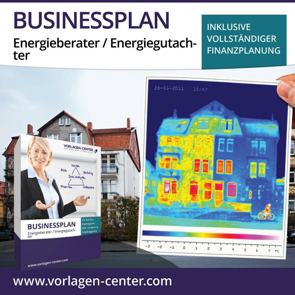 Businessplan-Paket Energieberater / Energiegutachter