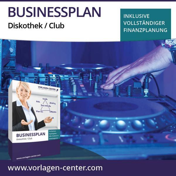 Businessplan Diskothek / Club