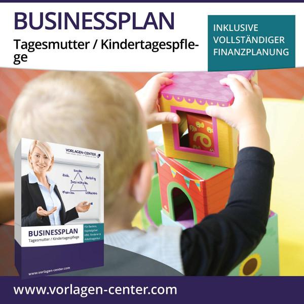 Businessplan-Paket Tagesmutter / Kindertagespflege