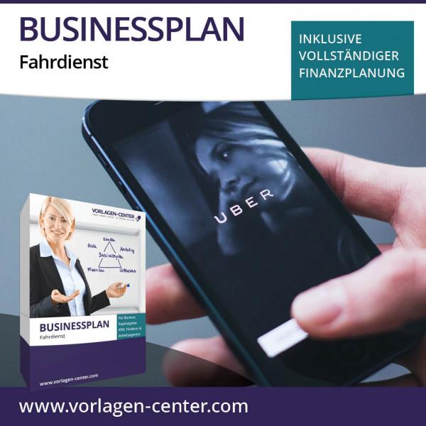 Businessplan-Paket Fahrdienst