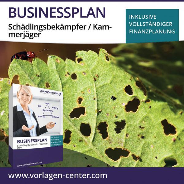 Businessplan-Paket Schädlingsbekämpfer / Kammerjäger
