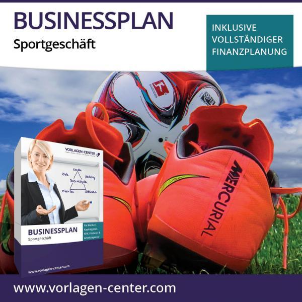 Businessplan-Paket Sportgeschäft