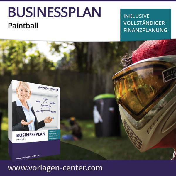 Businessplan Paintball