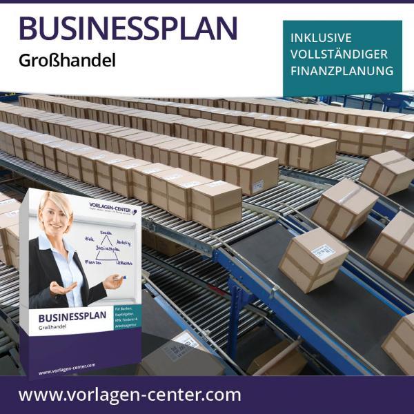Businessplan-Paket Großhandel