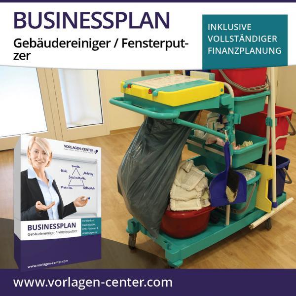 Businessplan-Paket Gebäudereiniger / Fensterputzer