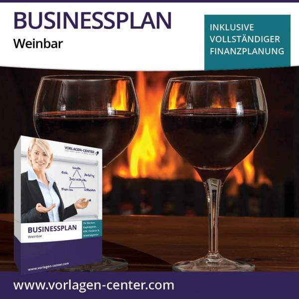 Businessplan-Paket Weinbar